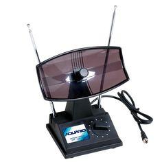 Feita de pedra lascada, esta antena UHF servia para SINTONIZAR certos canais, como a MTV.