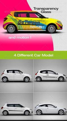 Mock-up for car branding