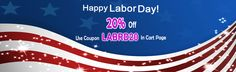 Good Offer for Labor Day 2015 celebrations.  Mage Extensions and Themes provide excellent offer of 20% for #magento Extensions. Use coupon code LABRD20 in Shopping cart page to get 20% offer. Read more from http://mage-extensions-themes.com/blog/magento-extensions-offer-labor-day-2015/