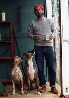 【肩肘張らない休日に】セーター×ジーンズの40代着こなし(メンズ) | Italy Web