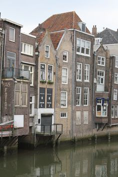 houses in Dordrecht Holland #townhouse #architecture #holland