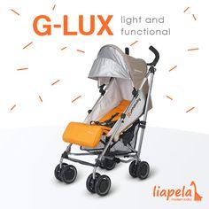 Umbrella stroller - redefined. Like on Instagram @LiapelaModernBaby