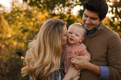 Golden Hour Fall Family Session | Tulsa Family Photographer Chelsea Ahlgrim