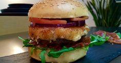 Altobelli Burger mit Parmaschinken & Mozzarella