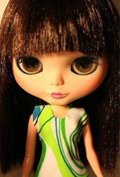 Aya Rouge ~ altered Blythe Doll by Rafael R. Girona