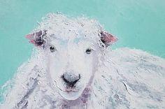 Sheep Art - Jeremiah #frenchcountrydecor #countryhomedecor #kitchenart #frenchcountrykitchen