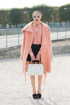 Pink fever: femenina y ladylike con el abrigo must de la temporada MIA MORETTI