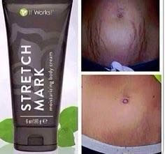 """Stretch Marks be gone! Our Stretch Mark Cream is amazing and affordable! Text """"Stretch Marks"""" to Stretch Mark Cream, Stretch Marks, Sante Bio, It Works Wraps, It Works Global, Product Tester, Product Review, Stretch Mark Removal, Defining Gel"""