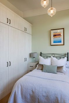 Our fitted bedrooms, kitchens & home office furniture perfectly fit into your home & lifestyle. At Hammonds we'll help you find the design that's right for you. Home Office Furniture, Bedroom Furniture, Contemporary Fitted Wardrobes, Linen Baskets, Fitted Bedrooms, Tall Ceilings, Sash Windows, Seat Pads, Shaker Style
