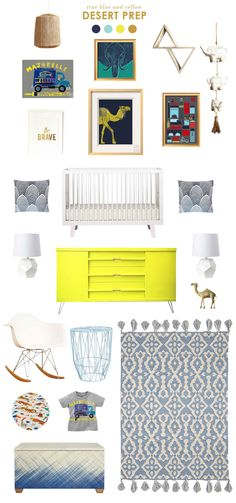 Desert Prep Don't forget to enter the Tea collection art giveaway! Desert Prep Don't forget to enter Baby Boy Rooms, Baby Boy Nurseries, Green Dresser, Baby Room Colors, Modern Bedroom Furniture, Nursery Inspiration, Kid Spaces, Kids Bedroom, Don't Forget