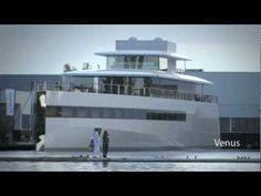 Steve Jobs's yacht is making what looks to be its first public appearance in the Dutch city of Aalsmeer.