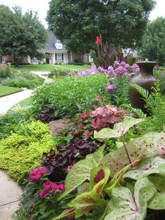 In Feng Shui, garden paths should be rounded rather than straight, to give a sense of flow ...