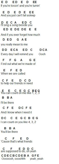 Flute Sheet Music: Count On Me