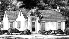 Looking for the best house plans? Check out the Catala Cove plan from Southern Living. Luxury House Plans, Best House Plans, Dream House Plans, Small House Plans, Small Cottage Homes, Cottage Porch, Tiny Homes, Dream Homes, Cottage Floor Plans