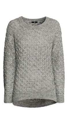 Knitted grey sweater ♡