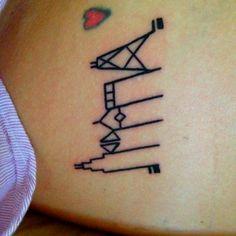 My Chi Town tribute... Chicago SkyLine tattoo