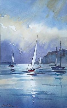 Thomas W. Schaller Demo painting
