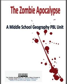 Why learn geography when you can save the world from a zombie apocalypse?In this PBL unit, students will learn about different types of maps through analyzing data and maps of the Eastern Hemisphere. Students will then apply their geographic knowledge to create six different types of maps that depict the geographically altered, post-apocalyptic world. Would have to do more research into this, but it sounds like an engaging project to teach geography skills.