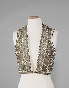 Albanian Vest.  Brooklyn Museum Costume Collection at The Metropolitan Museum of Art (via metmuseum.org)