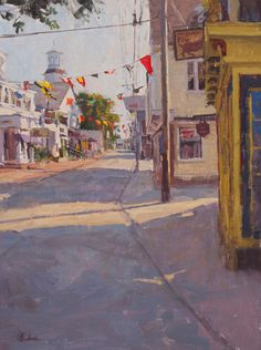 """Provincetown Morning,"" Frank Gardner, oil, 16 x 12"", Addison Gallery."