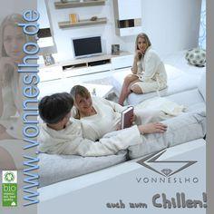 VONNESLHO Bademantel Wellness Mode auch zum Chillen!