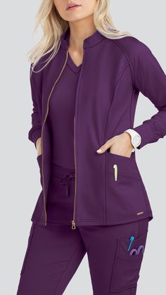 The Lauderdale by UA scrubs collection is perfect for both the office and off-time. Take a vacation from your everyday scrubs today with Lauderdale Scrubs at Uniform Advantage Scrubs Outfit, Scrubs Uniform, Nursing Wear, Nursing Clothes, Stylish Scrubs, Cute Scrubs, Scrub Jackets, Medical Uniforms, Medical Scrubs