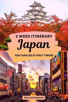 Japan with kids: the perfect Japan 2 week itinerary - Take the kids to Japan on our 2 week Japan itinerary! Japan Travel Guide, Tokyo Travel, Asia Travel, Travel Guides, Dublin Travel, Ireland Travel, Travel Packing, Travel Usa, Visit Tokyo