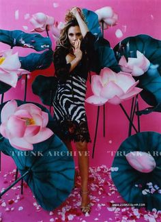 Victoria Beckham by Mika Ninagawa 2006