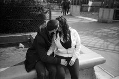 Photographer Documents Teenage Couples Consumed by a Passionate Kiss - My Modern Met