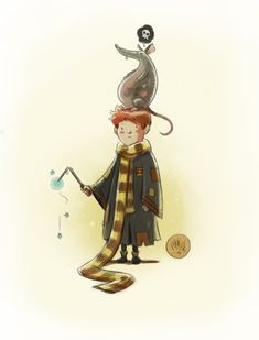 """Ron Weasley"" - Mike Maihack"