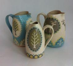 cameo milk jugs