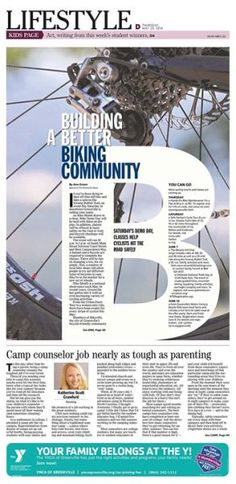 """Building a Better Biking Community"""