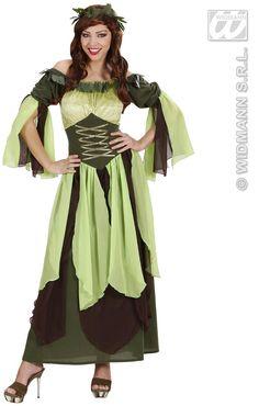 Disfraz de Madre Naturaleza  Incluye: Vestido y cubrecabeza  Composición: Antelina, terciopelo, y gasa http://www.disfracessimon.com/disfraces-hombre-mujer-adultos/1302-disfraz-madre-naturaleza-p-1302.html