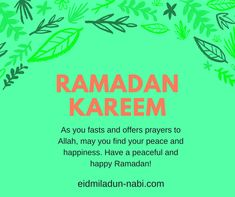 Looking for some quality Ramadan Mubarak Greetings? Then you are at the right place. Here I've posted a collection of Ramadan Greetings for your family and friends. Tariq Ramadan, Ramadan Day, Happy Eid Mubarak, Ramadan Mubarak, Ramadan Wishes In English, Greeting Words, Fast And Pray, Ramadan Greetings, Islamic Quotes Wallpaper
