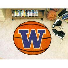 Washington Huskies NCAA Basketball Round Floor Mat (29)