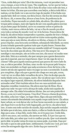 Texto perfeito ❤ Sad Love, Love You, My Best Secret, Instagram Blog, Sentences, Falling In Love, Texts, Reflection, Crushes