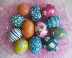Easter Eggs by Katya Trischuk Mangov by Ukrainian Easter Eggs - Art of Pysanky on Flickr.