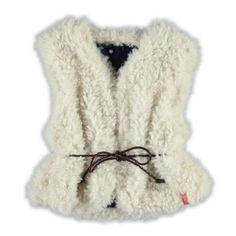 Noppies Bodywarmer  Winter collectie 2015   www.kleertjes.com #kinderkleding #babykleding #kids #fashion #fake #fur #trends #nepbont #imitatiebont