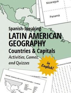 Latin American Countries and Capitals: Use these games, activities, and quizzes to teach your students the Spanish-speaking Latin American countries and capitals.