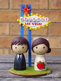 This cake topper is cute Hey, I found this really awesome Etsy listing at https://www.etsy.com/listing/169685264/las-vegas-sign-destination-wedding-cake