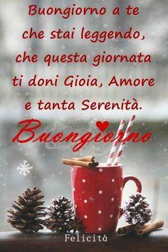 Buongiorno con la neve Animated Pictures for Sharing Italian Greetings, Italian Memes, Merry Christmas, Christmas Ornaments, Prayer Board, Custom Photo, Screen Shot, Good Morning, Holiday Decor