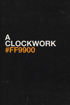 A Clockwork #FF9900 #fanart #kubrik