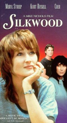 """Silkwood ~ """"The story of Karen Silkwood, a metallurgy worker at a plutonium processing plant who was purposefully contaminated, psychologically tortured and possibly murdered to prevent her from exposing blatant worker safety violations at the plant."""""""