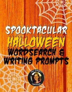 Want a challenging Halloween activity for your middle or high school students? Need ideas for fun activities? Download my free Halloween-themed word search. Includes answer key and several writing prompts and ideas to use in your secondary classroom.