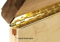 Reinforce Plywood for Hinge Screws