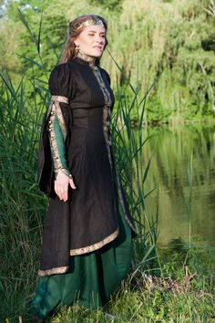 Forest Princess Overcoat - Medieval Renaissance Clothing, Costumes