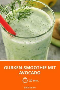 Gurken-Smoothie mit Avocado - smarter - Zeit: 20 Min. | eatsmarter.de