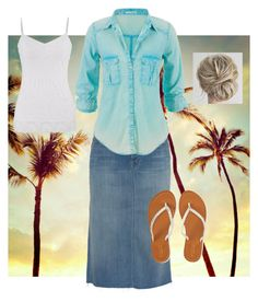 """""""Summer!"""" by lars0901 ❤ liked on Polyvore featuring Mother, maurices and Aéropostale"""