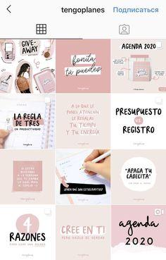 Instagram Feed Ideas Posts, Instagram Feed Layout, Feeds Instagram, Instagram Grid, Instagram Frame, Instagram Post Template, Instagram Design, Organizar Feed Instagram, Web Design