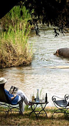 Sabie River, Legends ● Tinga, Kruger park